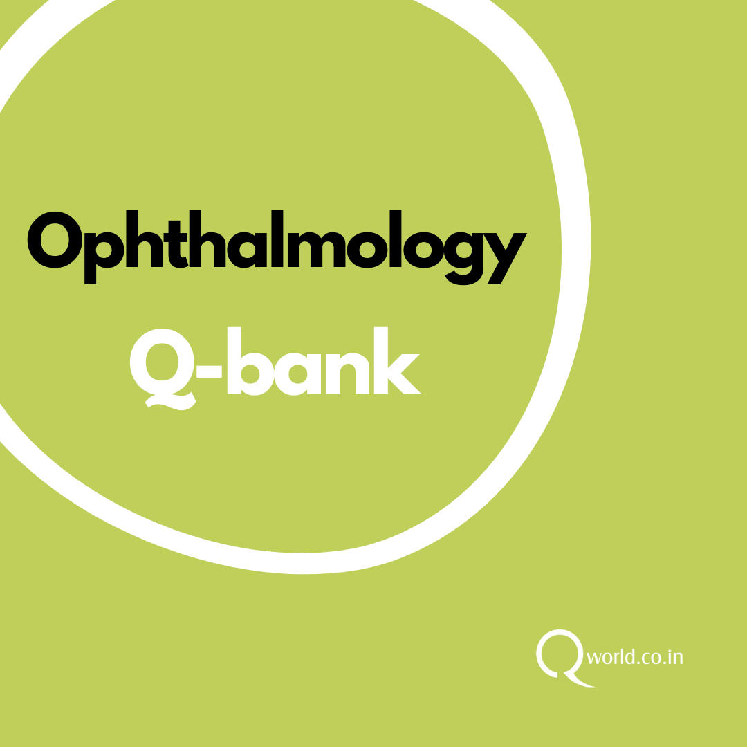 Ophthalmology NEET PG Question Bank
