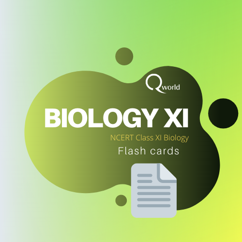 NEET Biology Flash cards