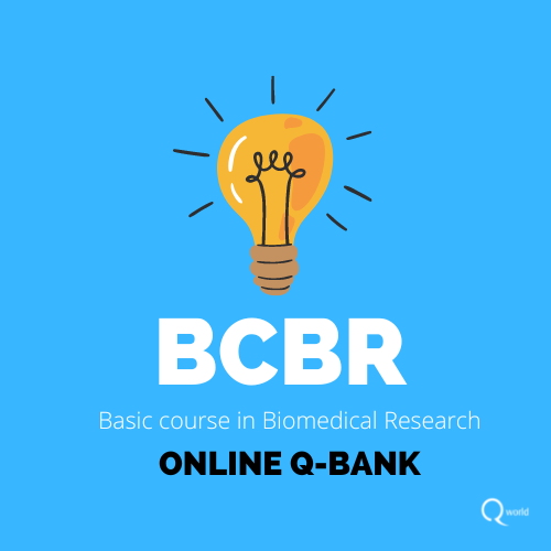 Basic course in Biomedical Research Question bank