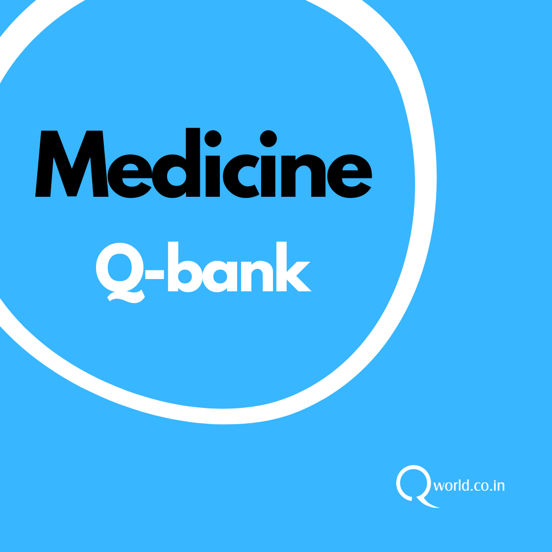 Medicine NEET PG Question Bank